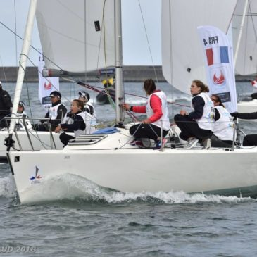 Voile : Margot Riou sur le podium