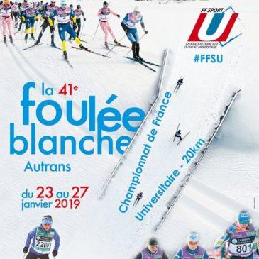 La Foulée Blanche support du Championnat de France Universitaire de ski nordique