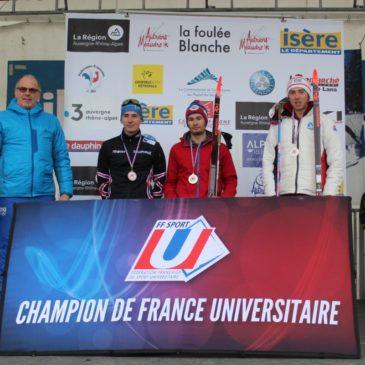 Ski nordique :  Mercier Bosseny et Sigaud champions de France U