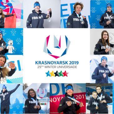 """Universiades : des Bleus records, 8 médailles pour """"nos"""" régionaux"""
