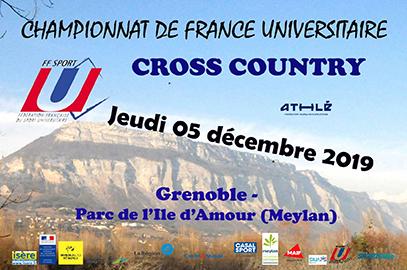 CFU de Cross Country : plus qu'une semaine !