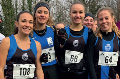 CFU de CROSS : Lyon en haut du podium