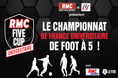 INSCRIPTIONS RMC FIVE CUP