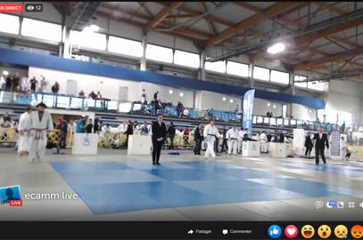 Regardez le CFU de Judo à Rouen en direct !