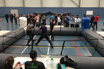 Les boxeurs montent sur le ring !