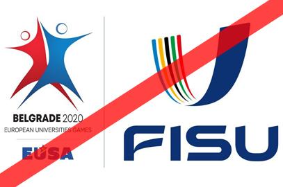 Les Championnats du Monde Universitaires annulés, les EUSA Games 2020 reportés.