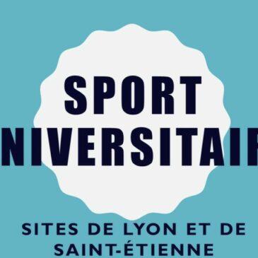 Sport Universitaire – Sites de Lyon et de Saint-Étienne