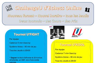 ChallengeU d'Échecs Online